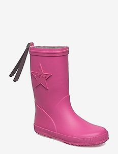 """RUBBER BOOT """"STAR"""" - bottes en chaouthouc - pink"""