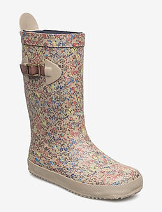 "RUBBER BOOT ""SCANDINAVIA"" - kalosze - 168 beige-flowers"