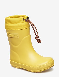 """RUBBER BOOT - """"WINTER THERMO"""" - rubberboots - yellow"""