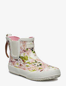 "RUBBER BOOT ""BABY"" - CREME-FLOWERS"