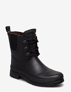 "RUBBER BOOT ""JUNIOR"" - støvler - black"