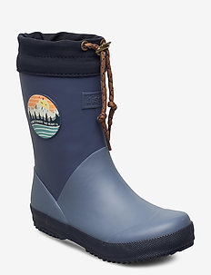 bisgaard thermo II - gummistøvler - blue