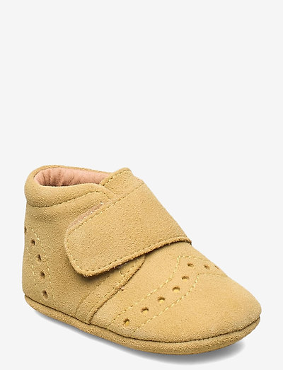 """HOME SHOE - """"PETIT"""" - instappers - mustard"""