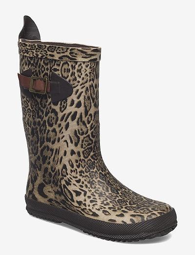 """RUBBER BOOT """"SCANDINAVIA"""" - rubberlaarzen zonder voering - leopard"""