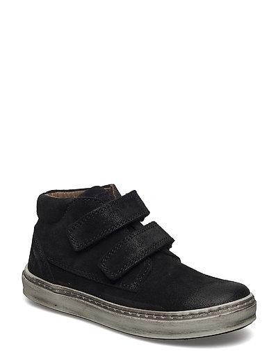 Velcro shoes - BLACK