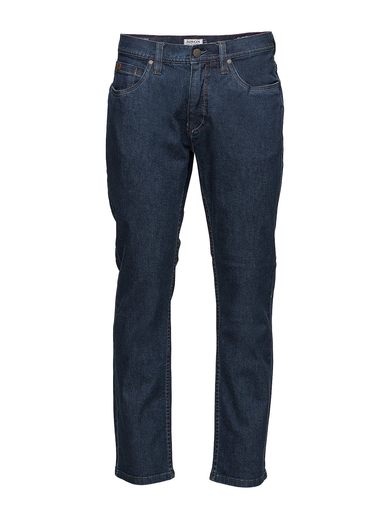 Bison 5 pocket jeans - Dark night - INDIGO BLUE