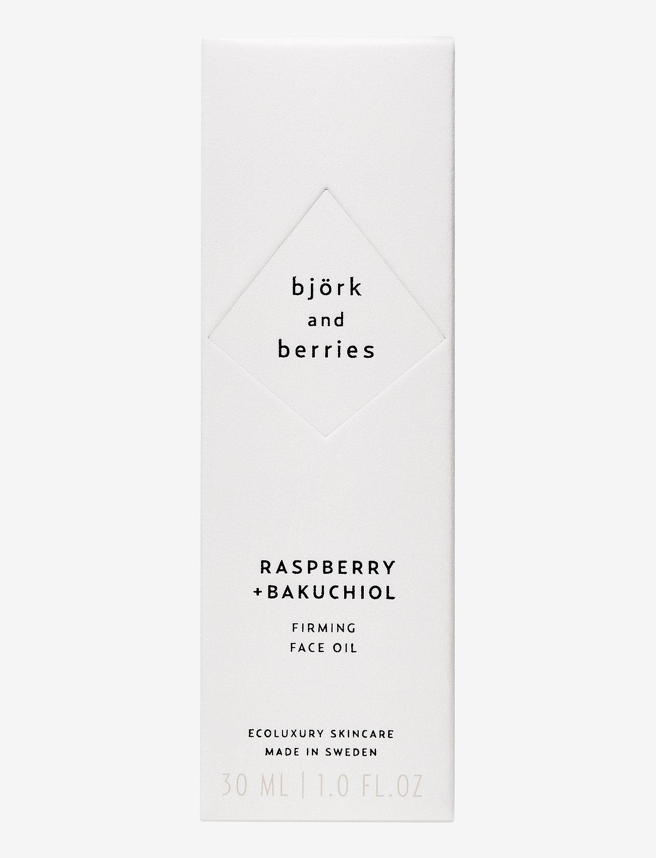 Björk & Berries - Raspberry Face Oil - ansiktsoljer - no colour - 1
