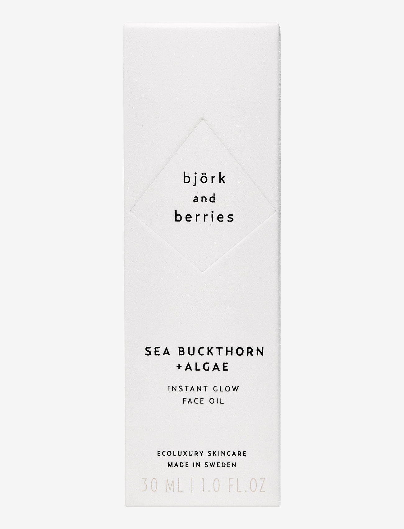 Björk & Berries - Sea Buckthorn Face Oil - ansiktsoljer - no colour - 1
