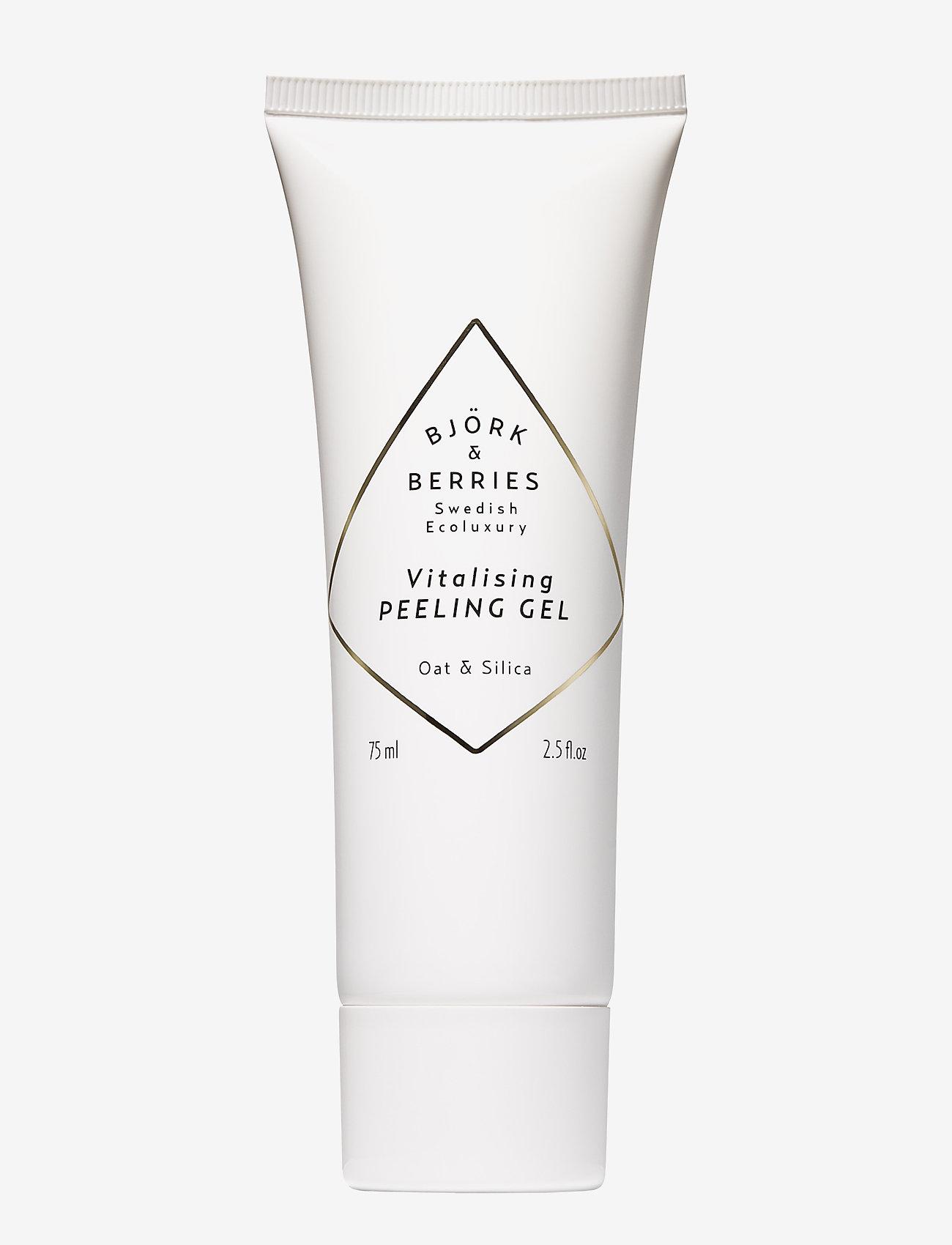Björk & Berries - Vitalising Peeling Gel - peeling - clear - 0