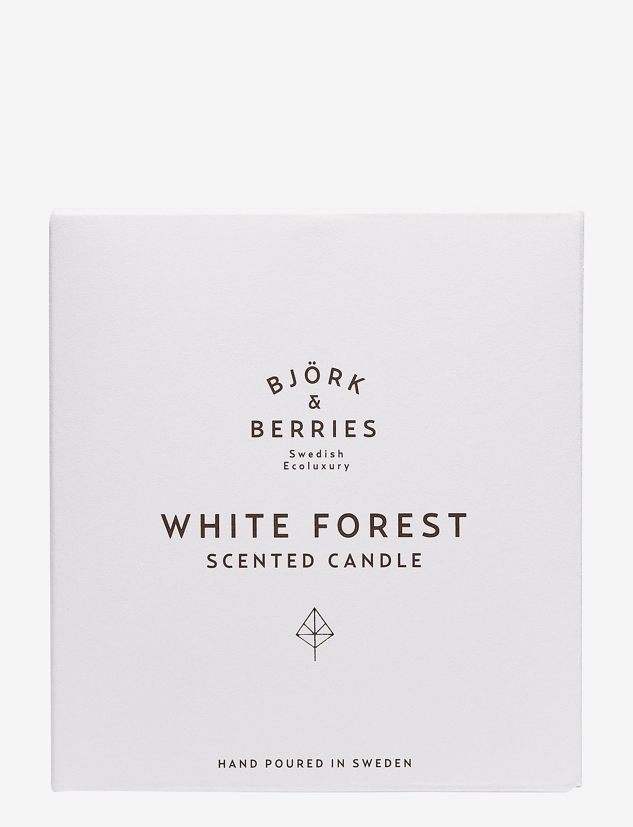 Björk & Berries - White Forest Scented Candle - dufte - no colour - 1