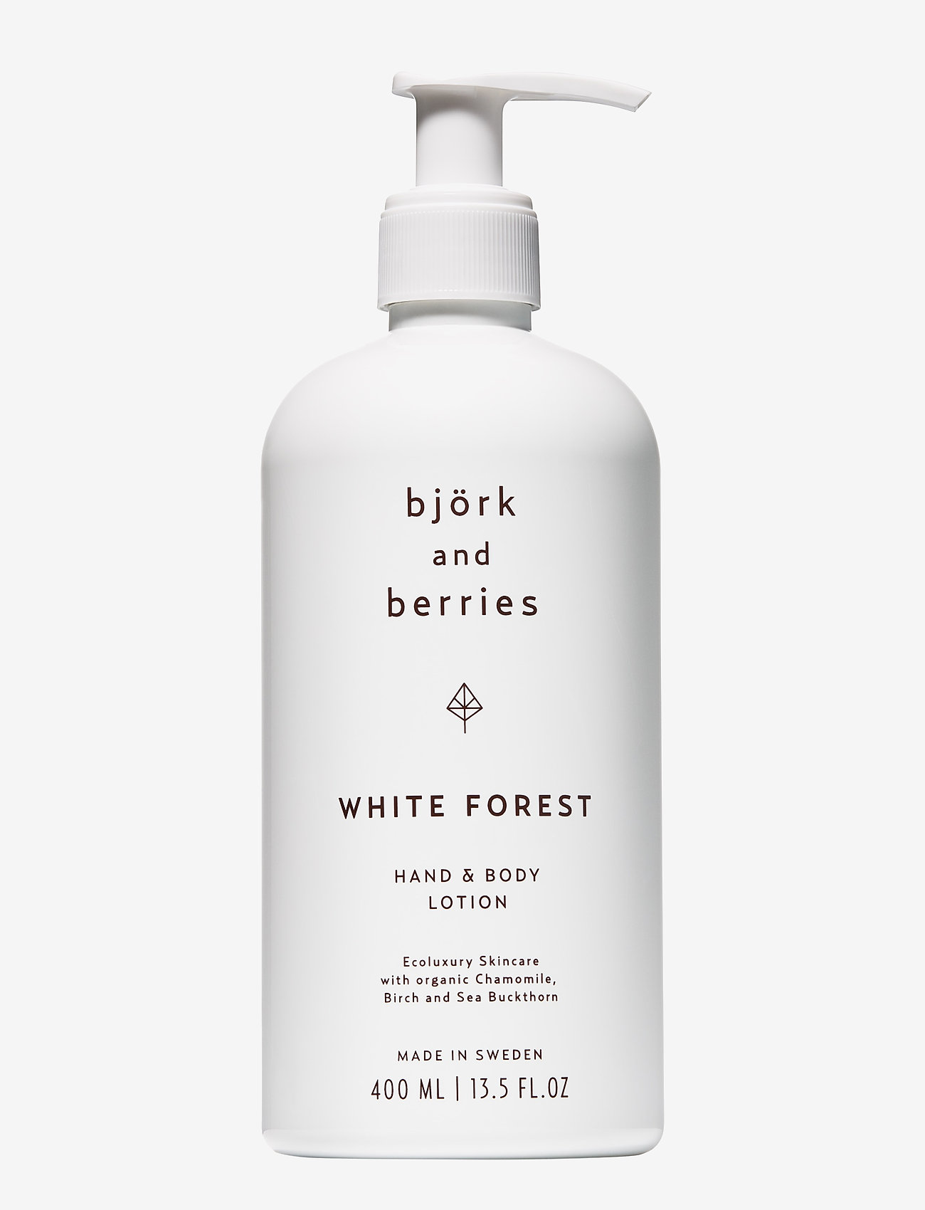 Björk & Berries - White Forest Hand & Body Lotion - body lotion - no colour - 0