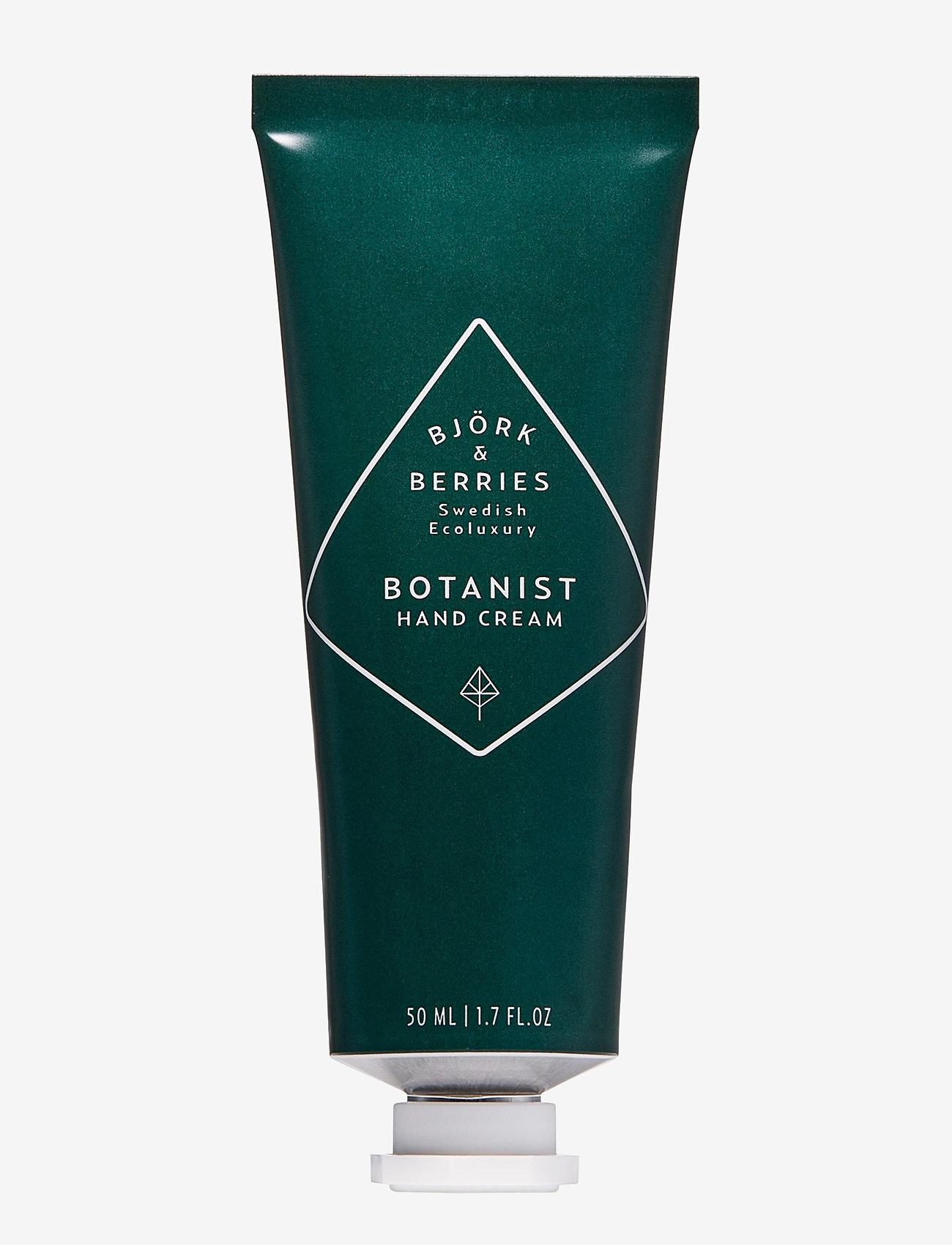 Björk & Berries - Botanist Hand Cream - håndkrem - no colour - 0
