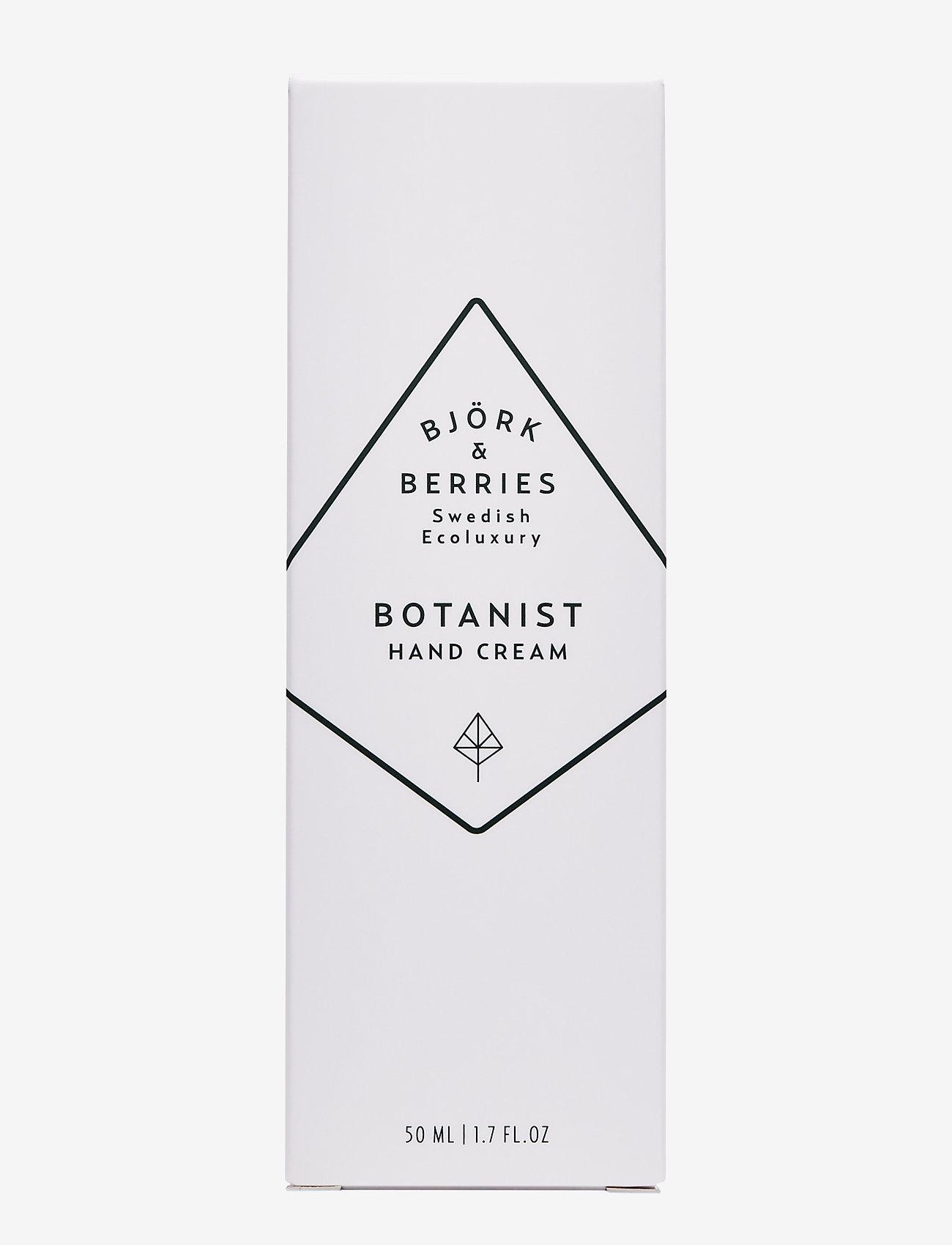 Björk & Berries - Botanist Hand Cream - håndkrem - no colour - 1