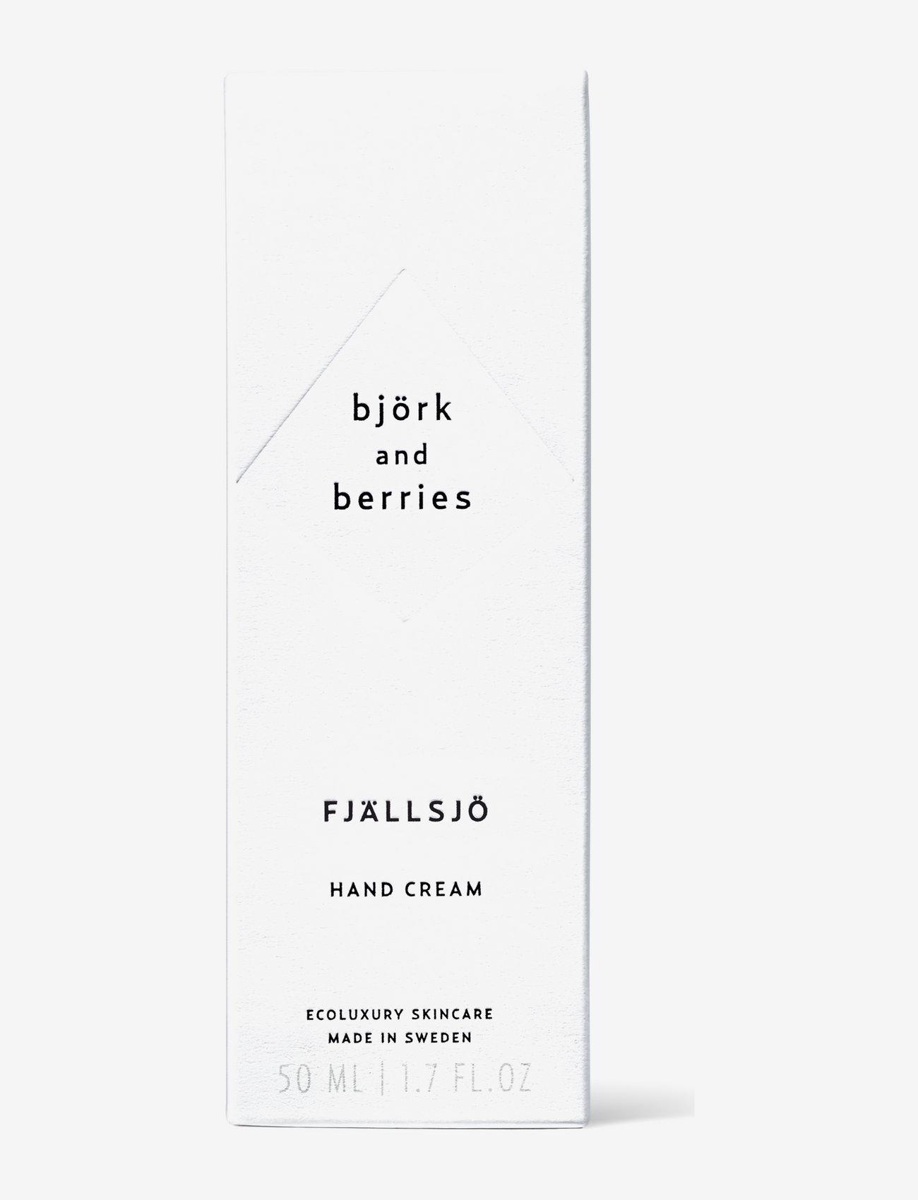 Björk & Berries - Fjällsjö Hand Cream - handkräm & fotkräm - clear - 1