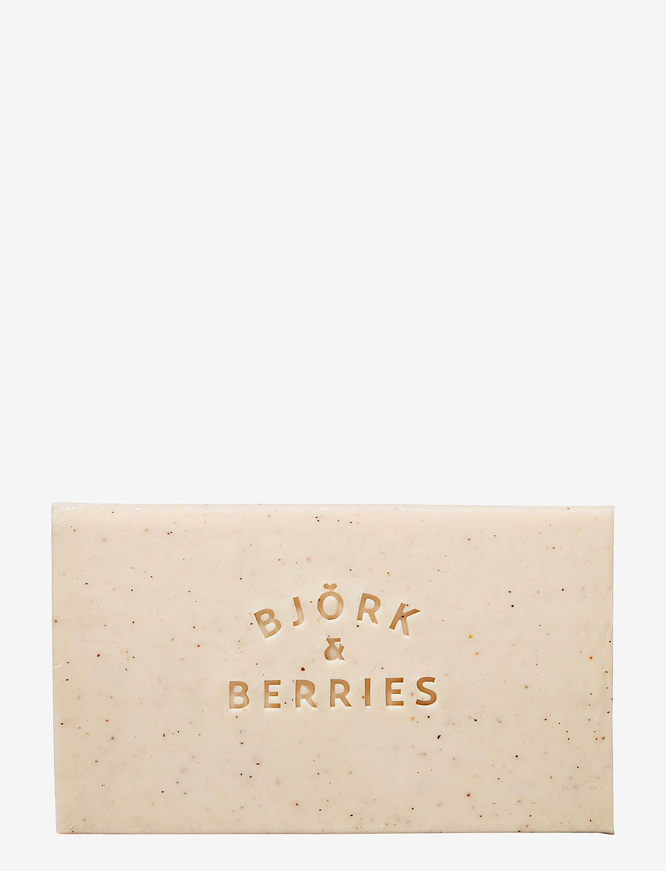 Björk & Berries - Exfoliating Bath Soap - bad & dusj - clear - 0