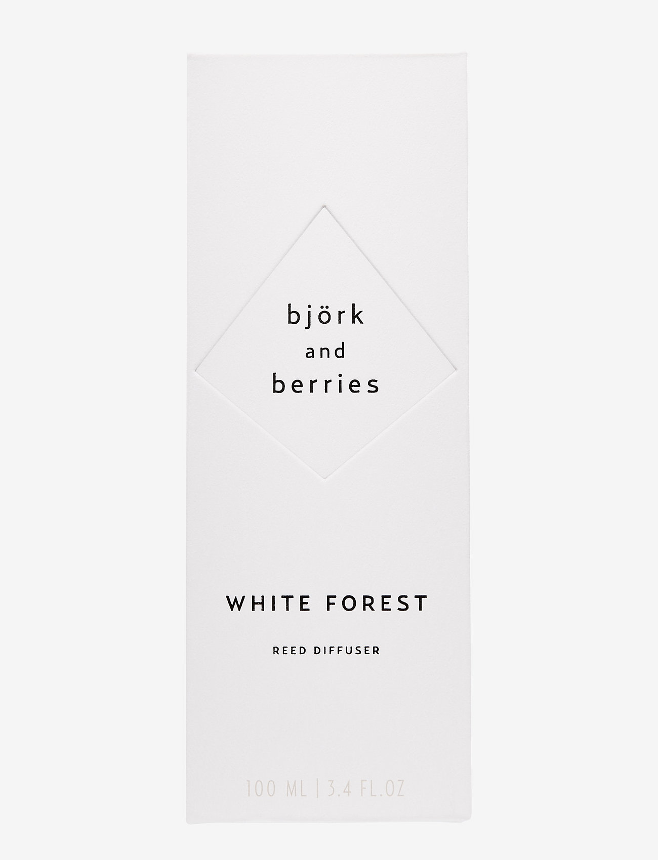 Björk & Berries - White Forest Reed Diffuser - duft - no colour - 1