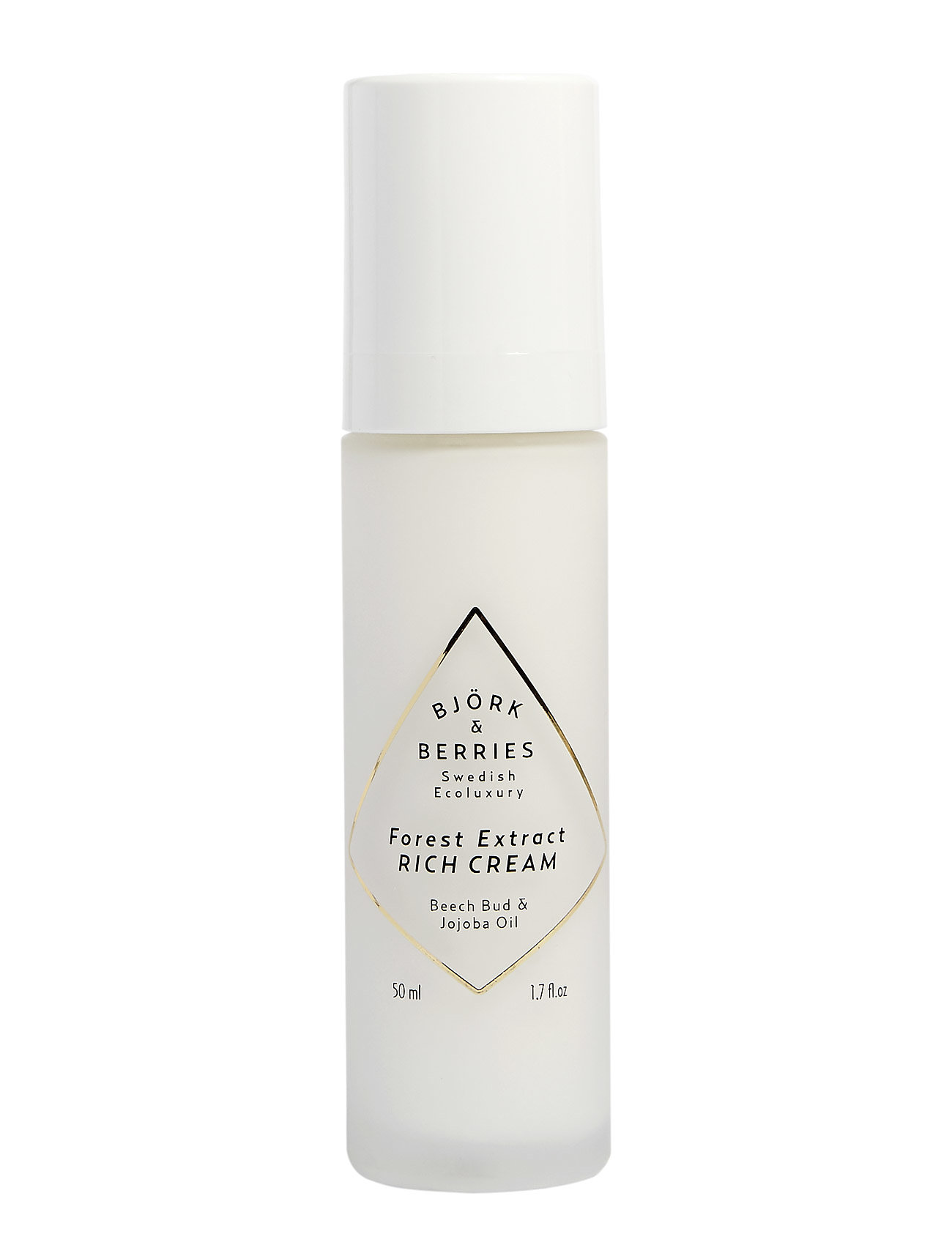 Björk & Berries Forest Extract Rich Cream - CLEAR