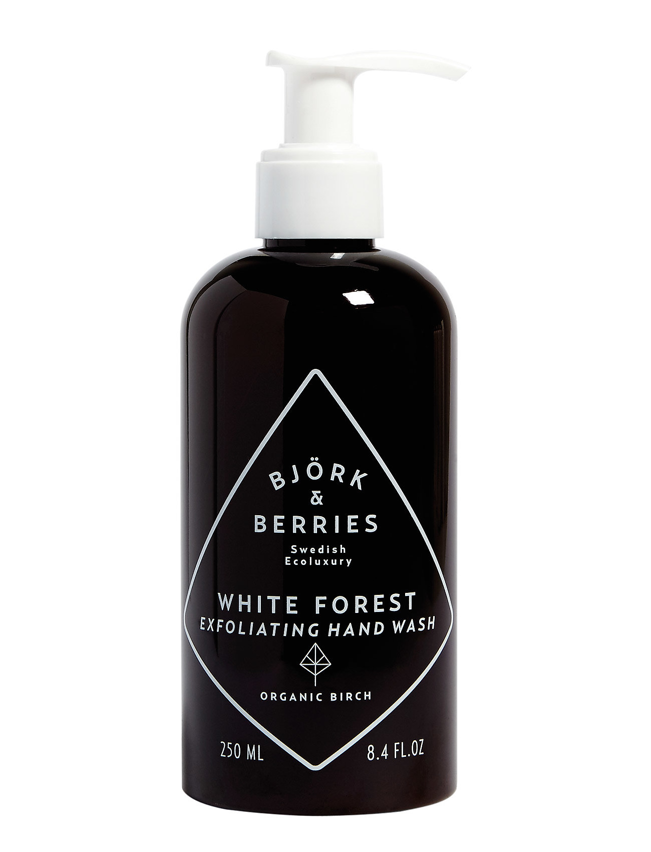 Björk & Berries White Forest Exfoliating Hand Wash - CLEAR