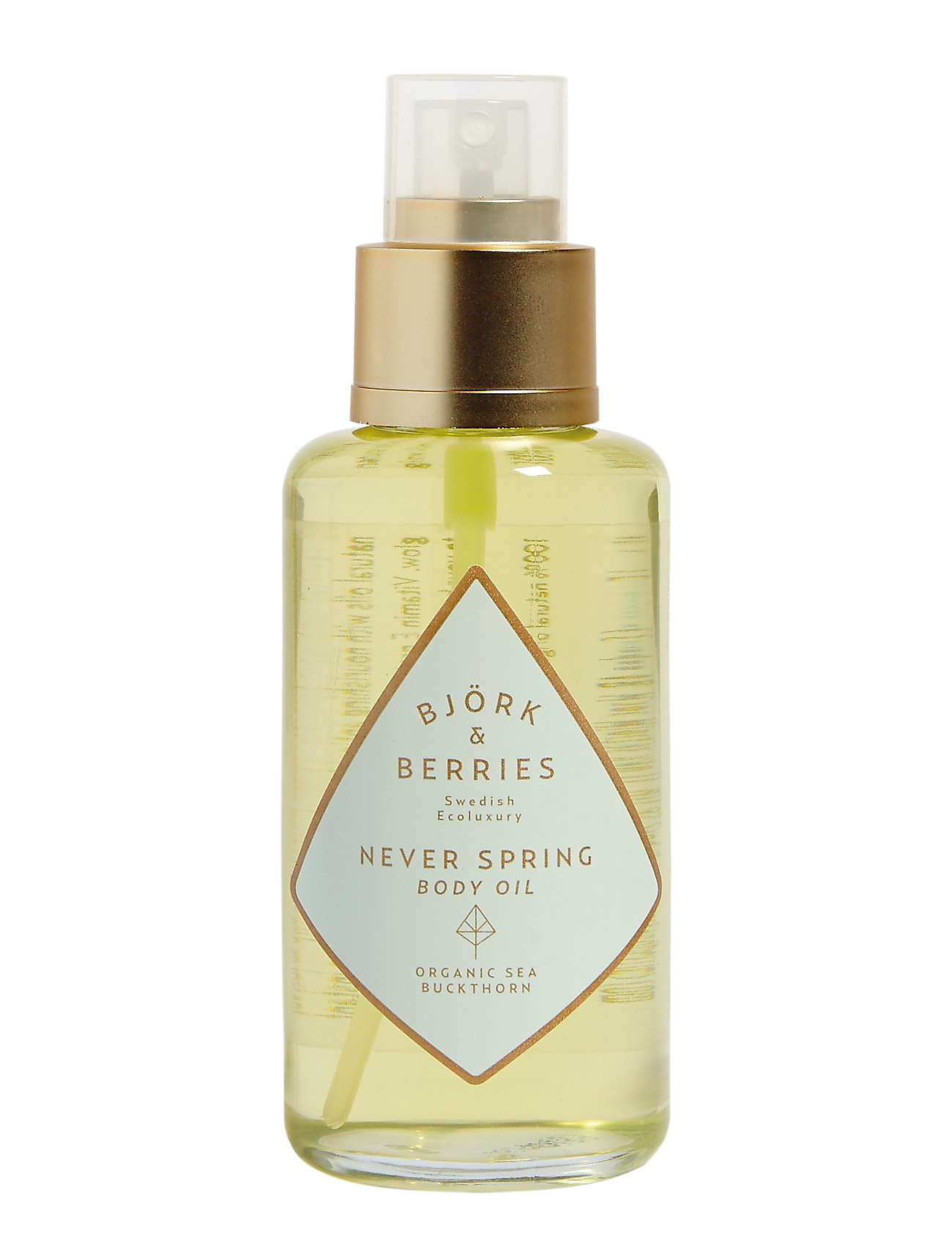 Björk & Berries Never Spring Body Oil - CLEAR