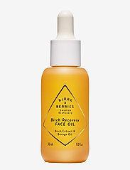 Björk & Berries - Birch Recovery Face oil - ansiktsoljer - clear - 0