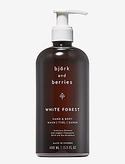 Björk & Berries - White Forest Hand & Body Wash - suihku & kylpy - no colour - 0