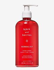 Björk & Berries - Herbalist Hand & Body Wash - bad & dusj - no colour - 0