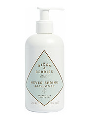 Björk & Berries Never Spring Body Lotion - CLEAR
