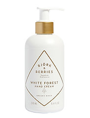 Björk & Berries White Forest Hand Cream - CLEAR