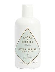 Björk & Berries Never Spring Body Wash - CLEAR
