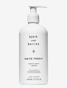 White Forest Hand & Body Lotion - body lotion - no colour