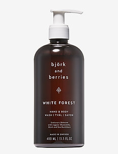 White Forest Hand & Body Wash - bad & dusj - no colour