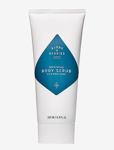 White Forest Body Scrub - skrub - clear