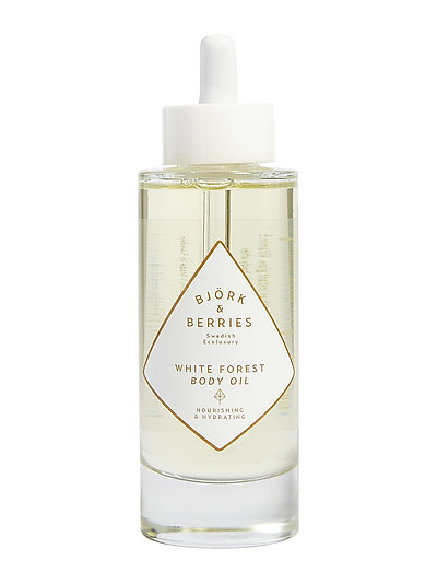 White Forest Body Oil - CLEAR