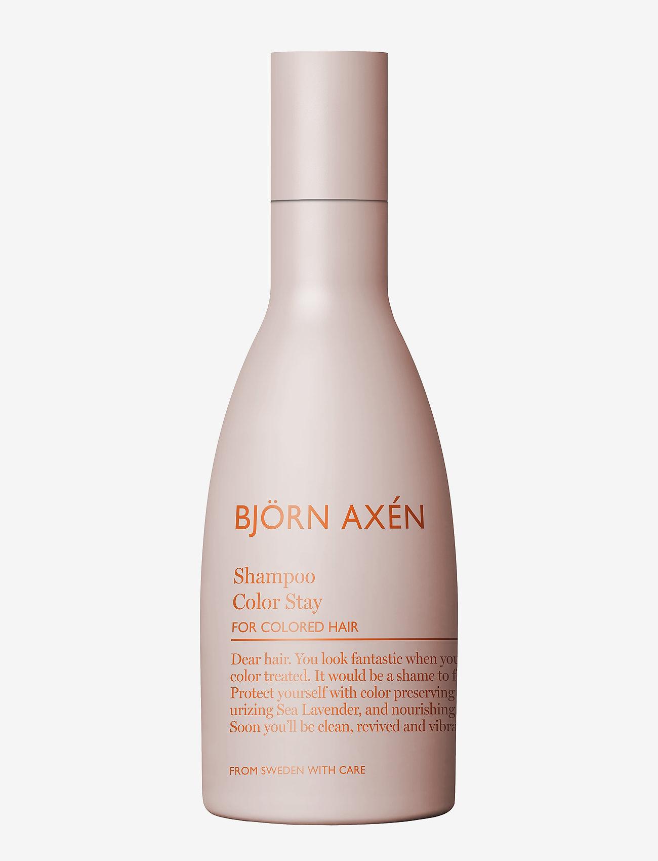 Björn Axén - Color Stay Shampoo 250 ml - shampoo - no colour - 0