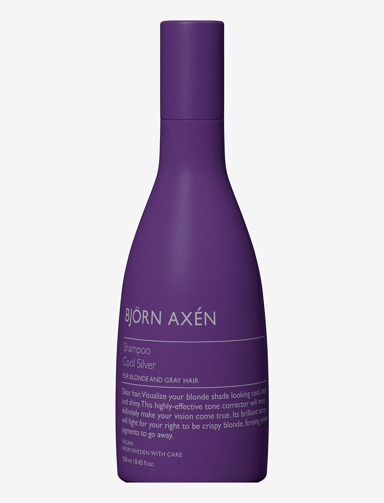 Björn Axén - Cool Silver Shampoo 250 ml - shampoo - no colour - 0