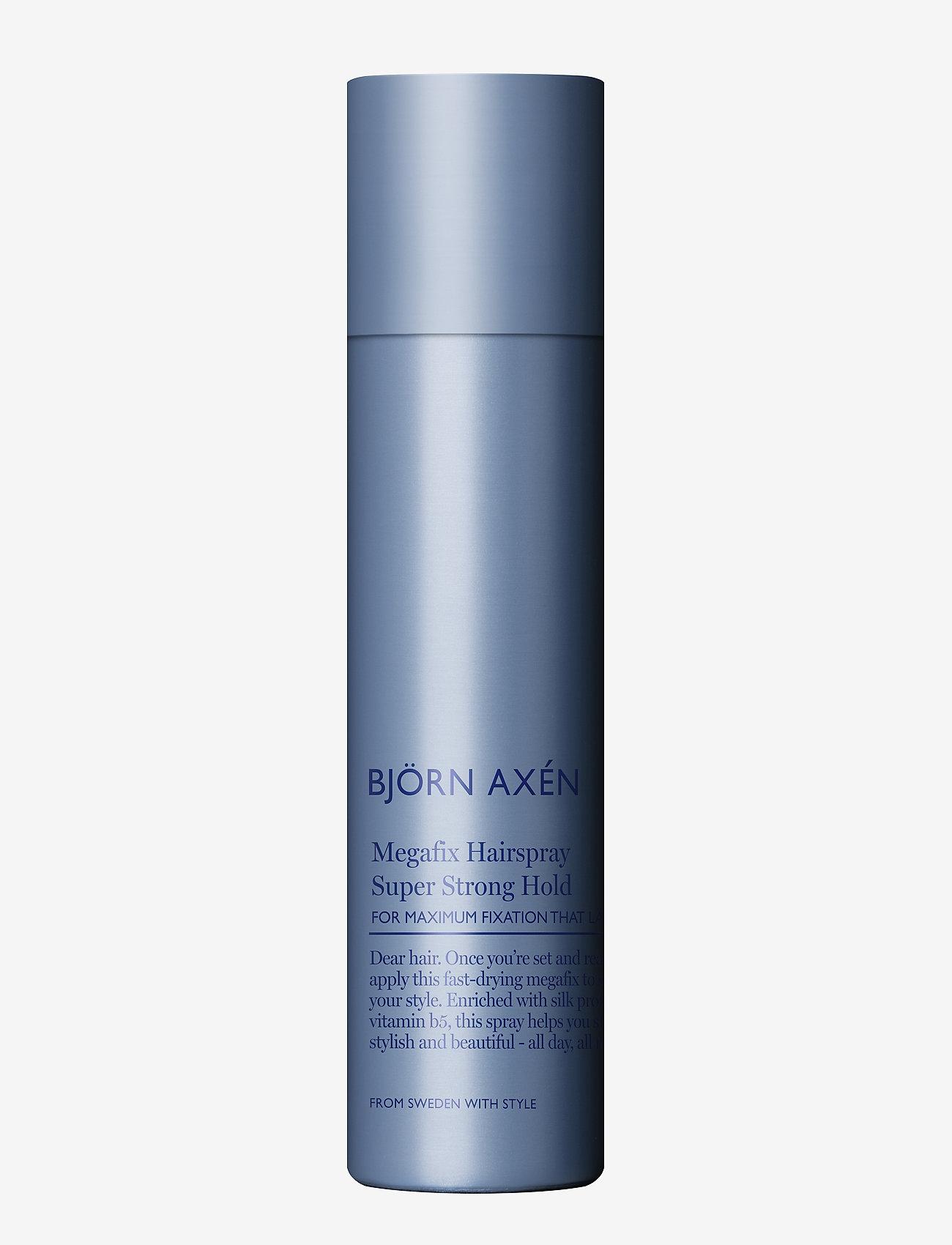 Björn Axén - Megafix Hairspray Super Strong Hold 80 ml - spray - no colour - 0