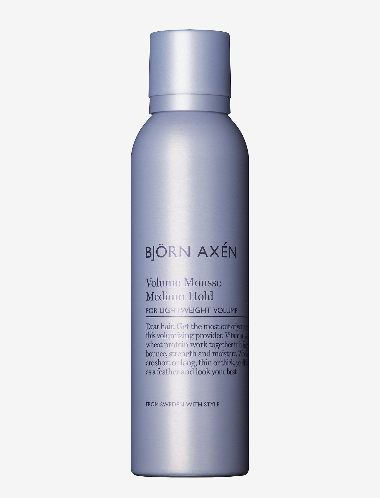Björn Axén - Volume Mousse Medium Strong 200 ml - spray - no colour - 0
