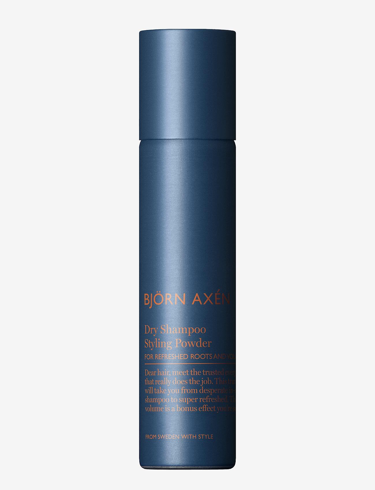 Björn Axén - Styling Powder Dry Shampoo 80 ml - shampo - no colour - 0