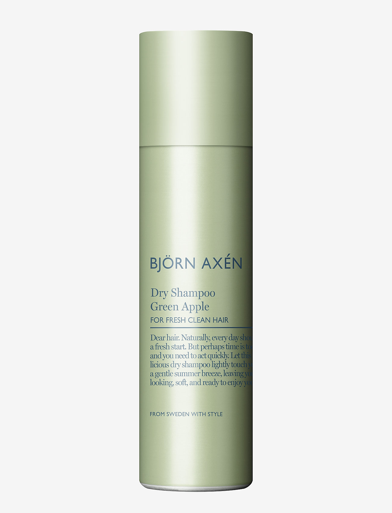 Björn Axén - Dry Shampoo Green Apple 150 ml - shampoo - no colour - 0