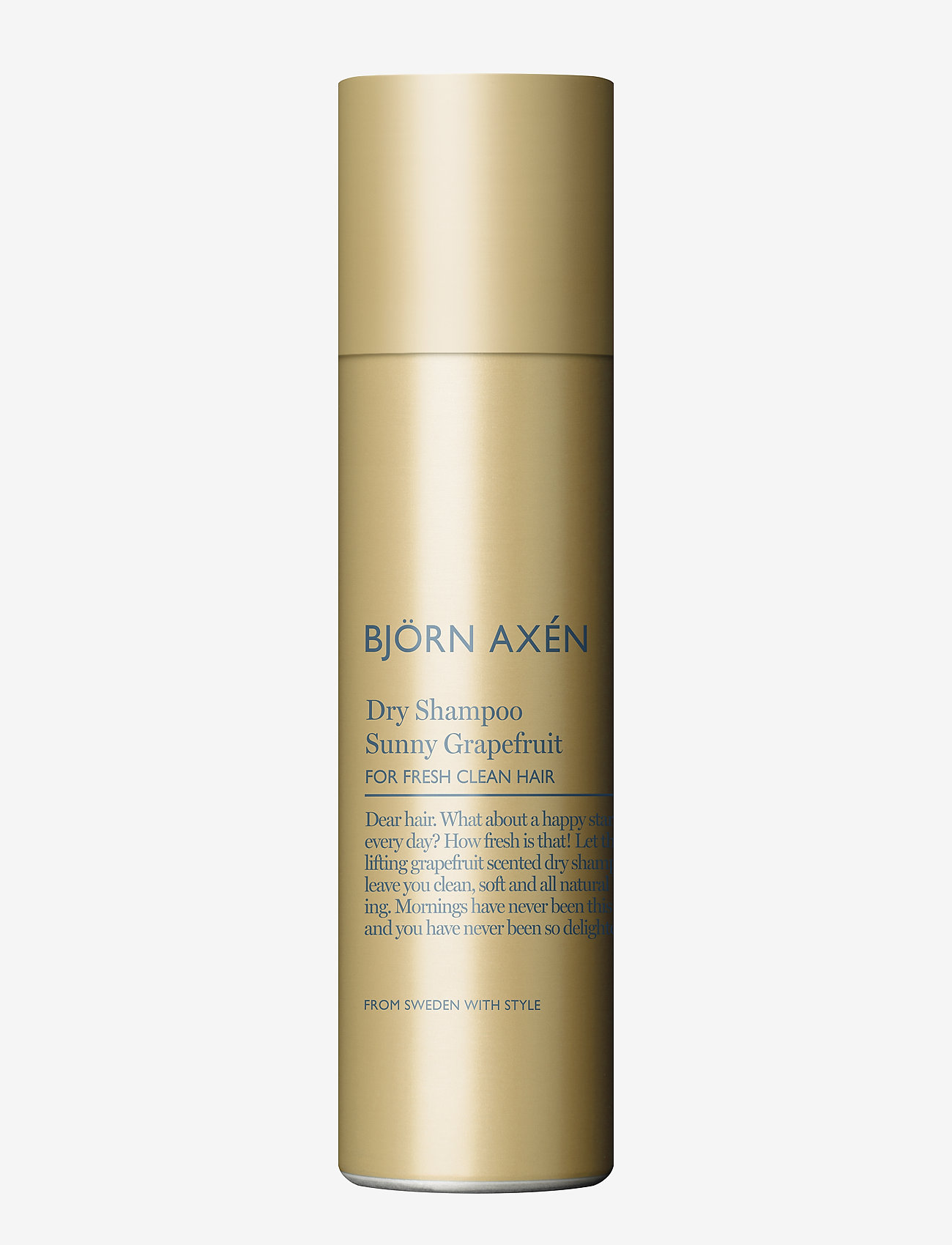 Björn Axén - Dry Shampoo Sunny Grapefruit 150 ml - shampoo - no colour - 0