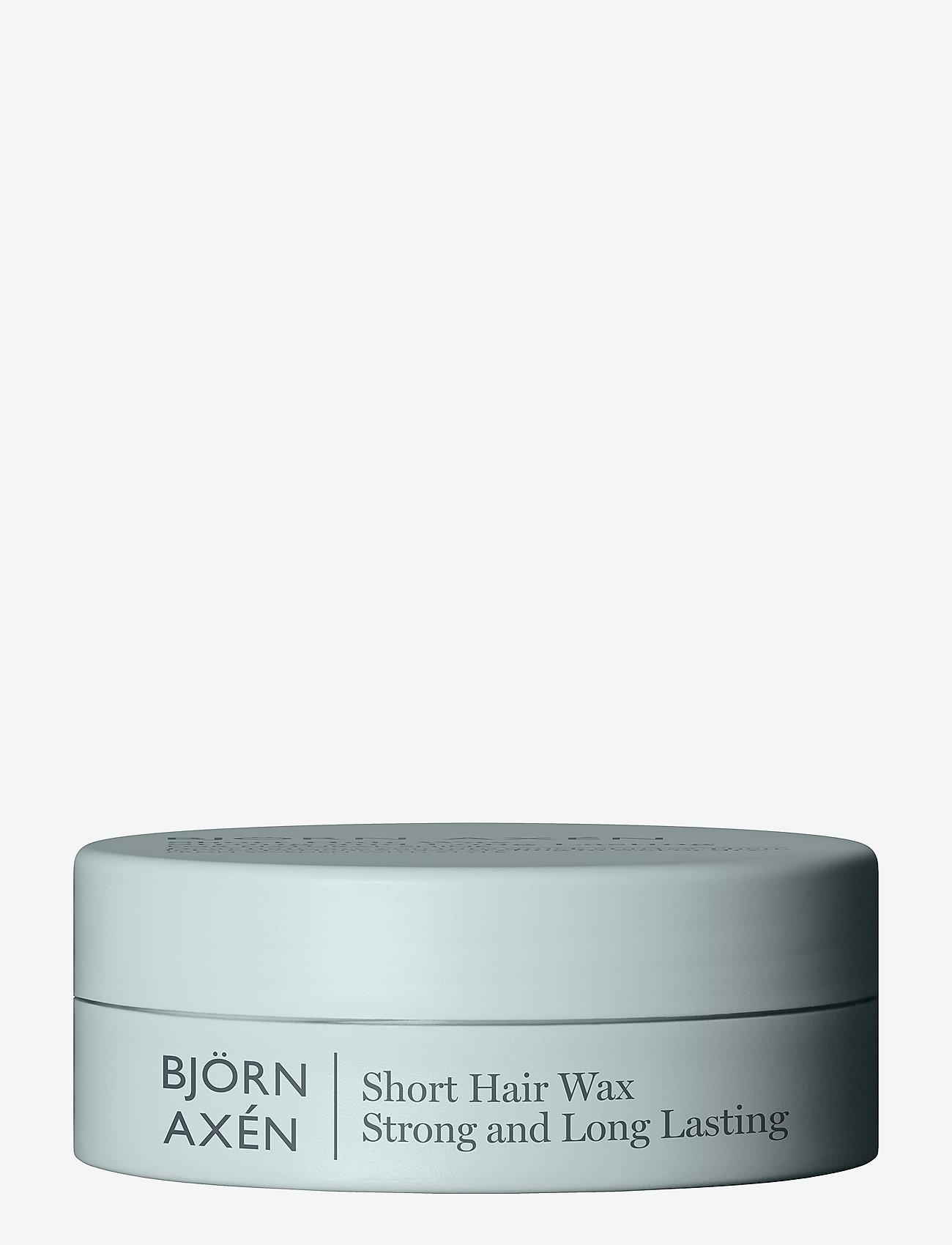 Björn Axén - Short Hair Wax 80 ml - wax - no colour - 0