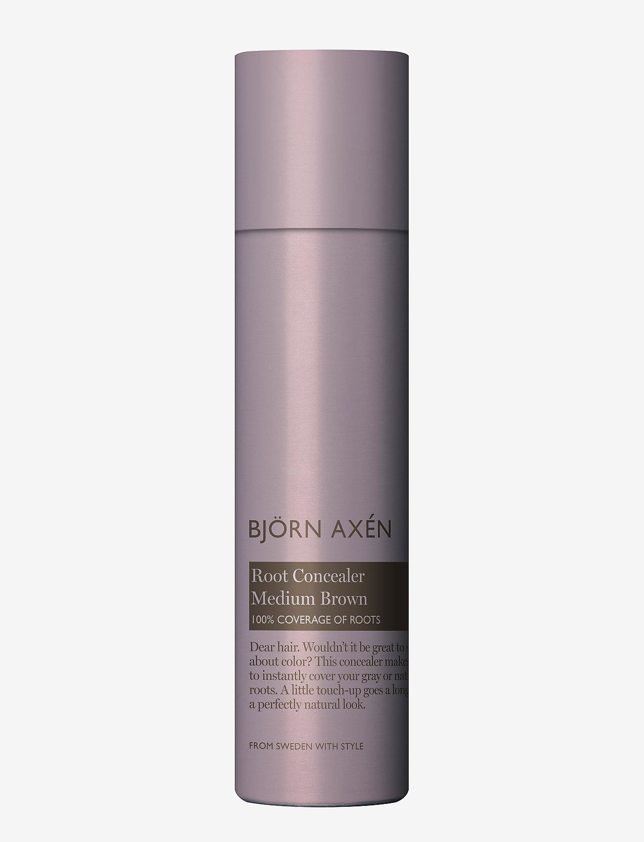 Björn Axén - Root Concealer Medium Brown 80 ml - behandling - brown - 0
