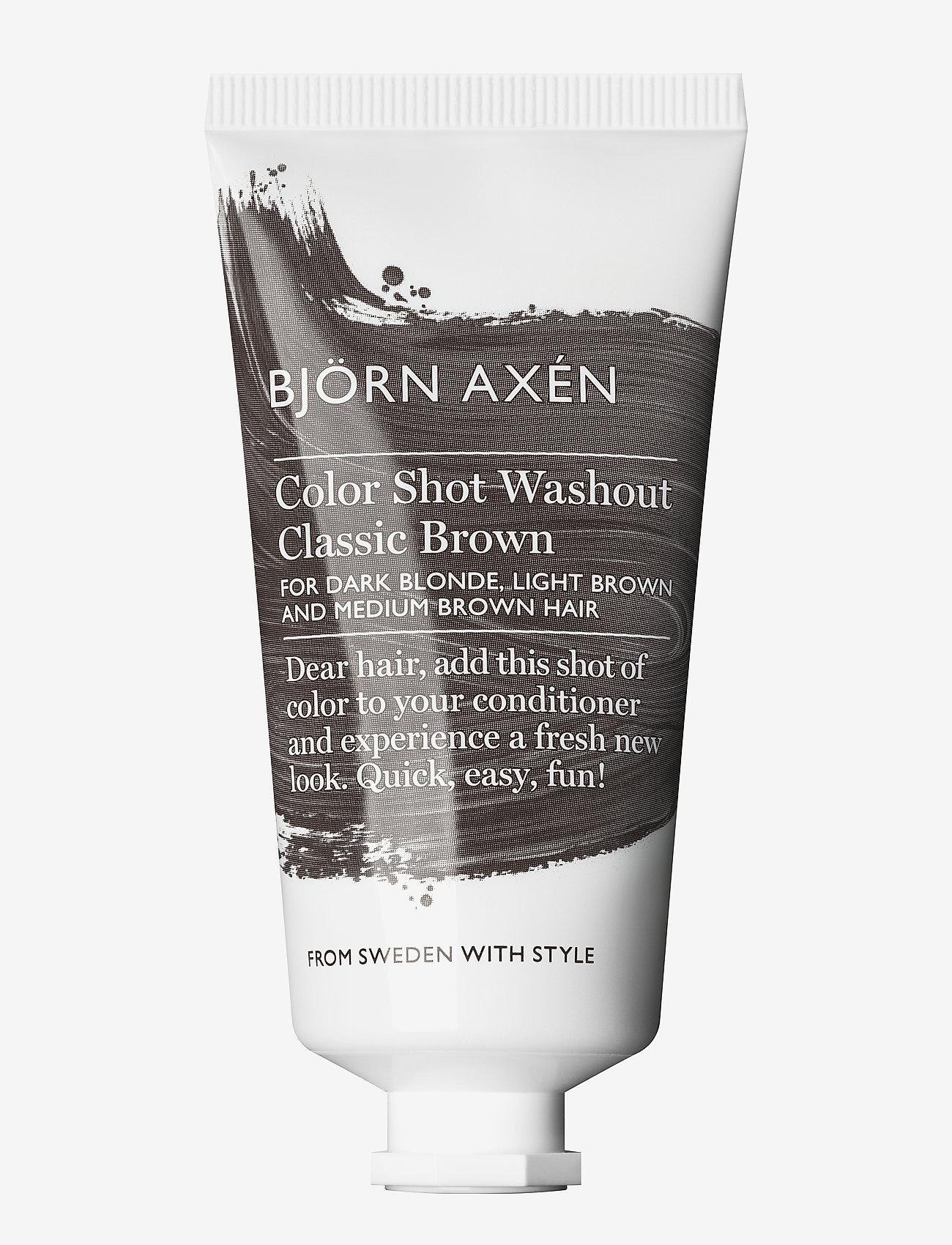 Björn Axén - Color Shot Washout Classic Brown 50 ml - behandling - classic brown - 0