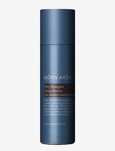 Dry Shampoo Deep Brown 200 ml - shampo - no colour