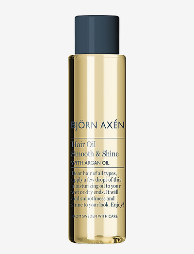 Hair Oil Smooth & Shine with Argan Oil 75 ml - hårolie - no colour