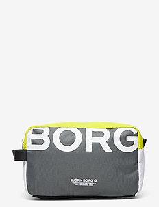 GORDON - toiletry bags - black mix