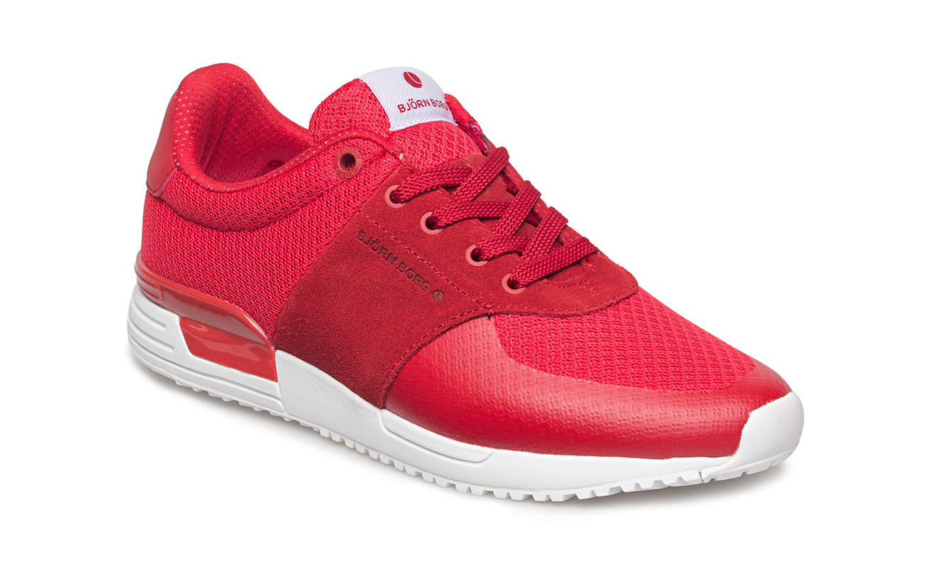 Björn Borg R100 Low Msh W - RED