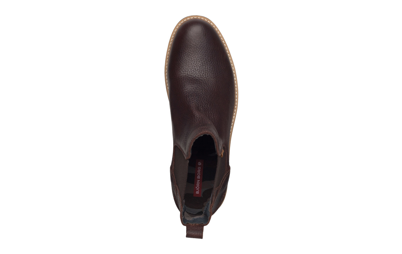 Textile M Empeigne Björn 100 Semelle Équipement Extérieure Doublure Supérieure Brown Mason Intérieure Borg Chs Tr Cuir Dark qpqwCv4xt