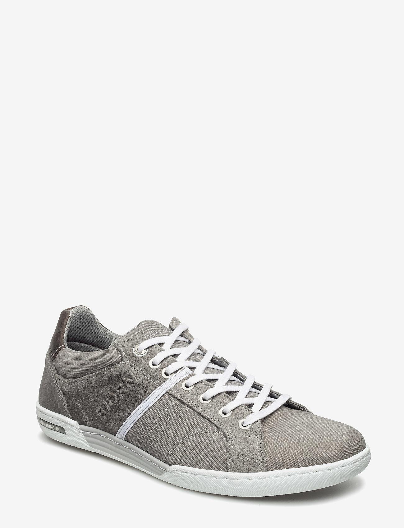 Björn Borg - Coltrane Cvs - laag sneakers - lt grey-dk grey - 0