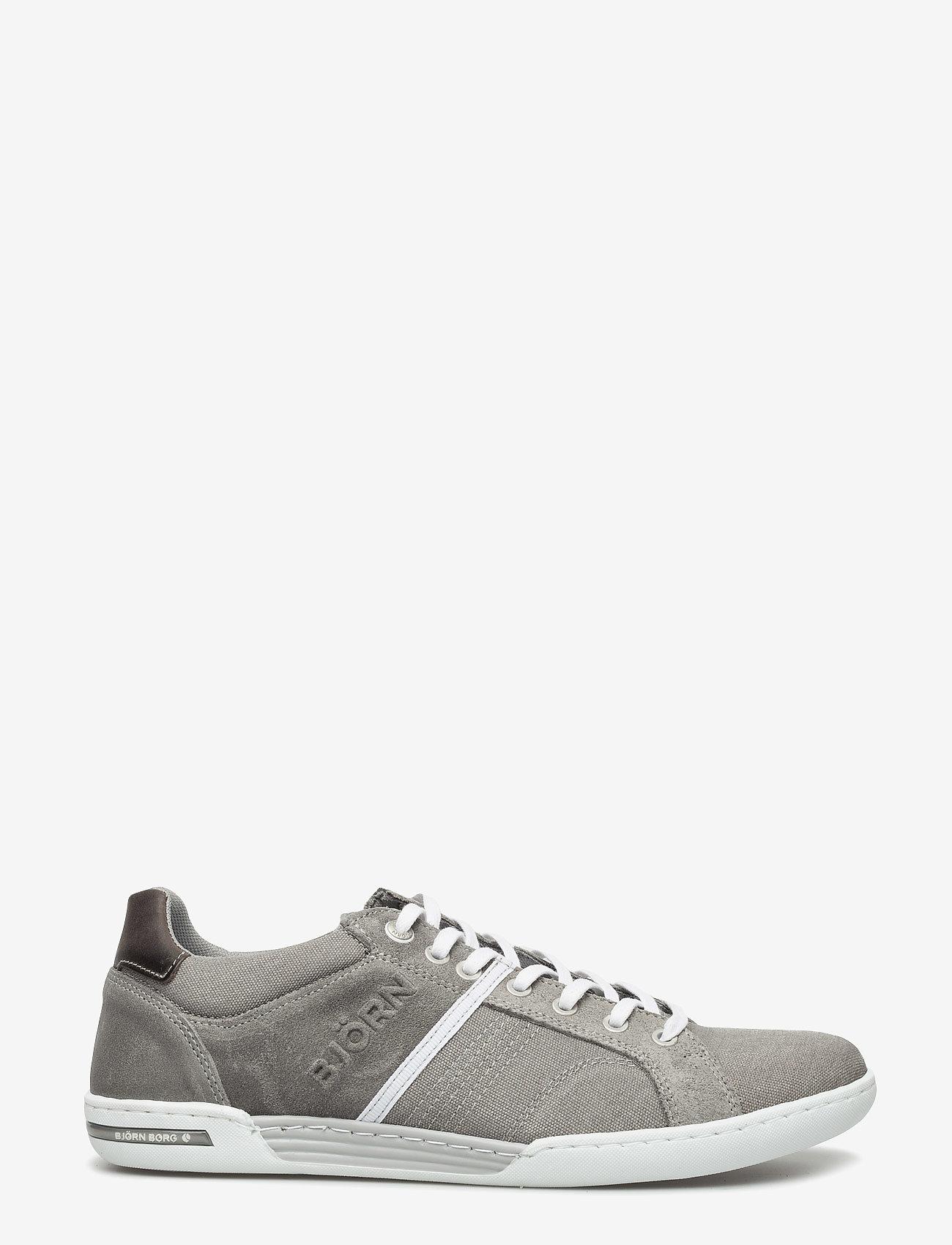 Björn Borg - Coltrane Cvs - laag sneakers - lt grey-dk grey - 1